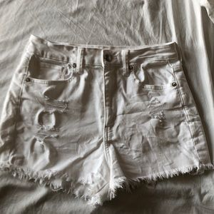 American Eagle Outfitters Shorts - NWOT American Eagle Distress Mom Jean Shorts